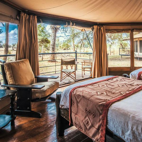 Saltlick – Voyager Ziwani Camp (100 Kms)