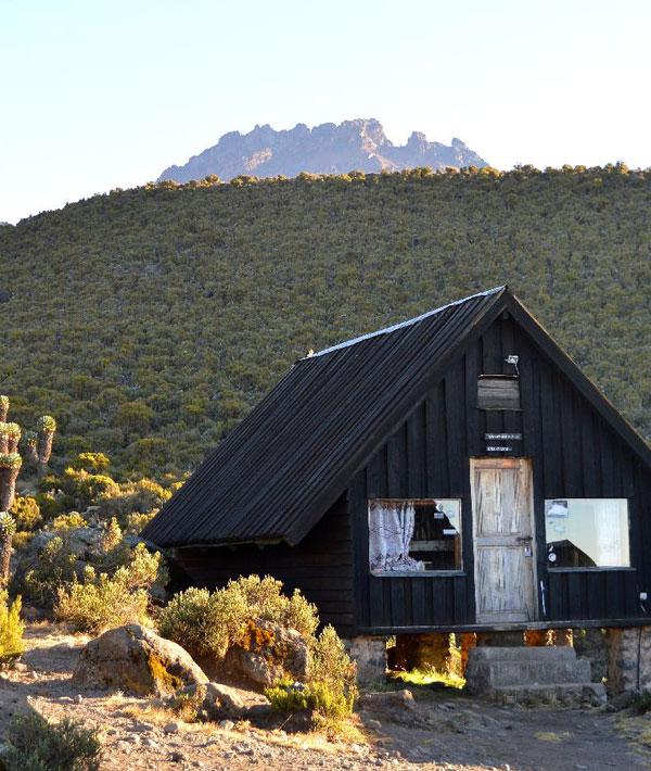 Moshi – Machame hut (9,840ft/3000m)