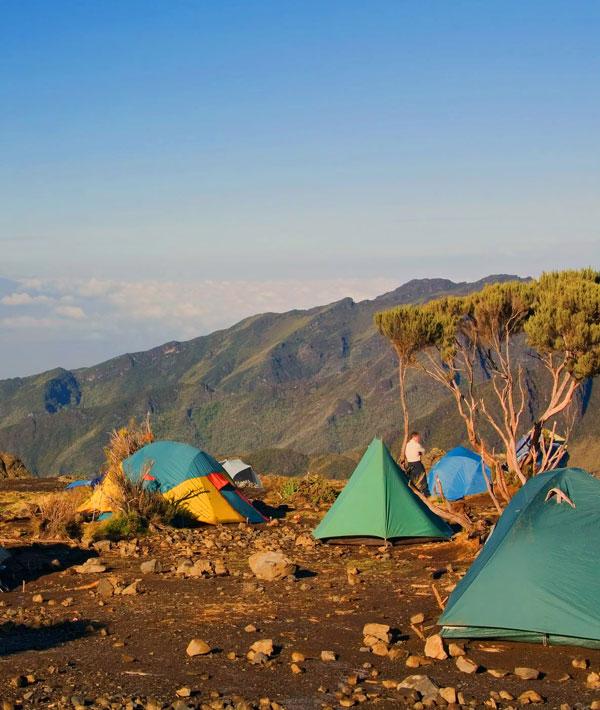 Machame hut – Shira hut (12,470ft/3800m)