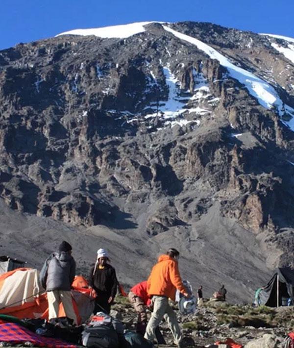Barafu camp-Summit (19,340ft/5895m)-Mweka