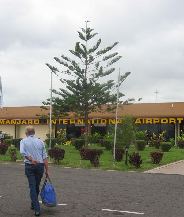 Depart Moshi/Kilimanjaro airport-Departure