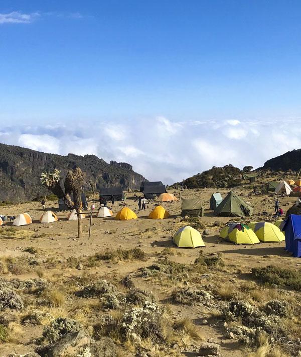 Barranco Camp to Karanga Camp