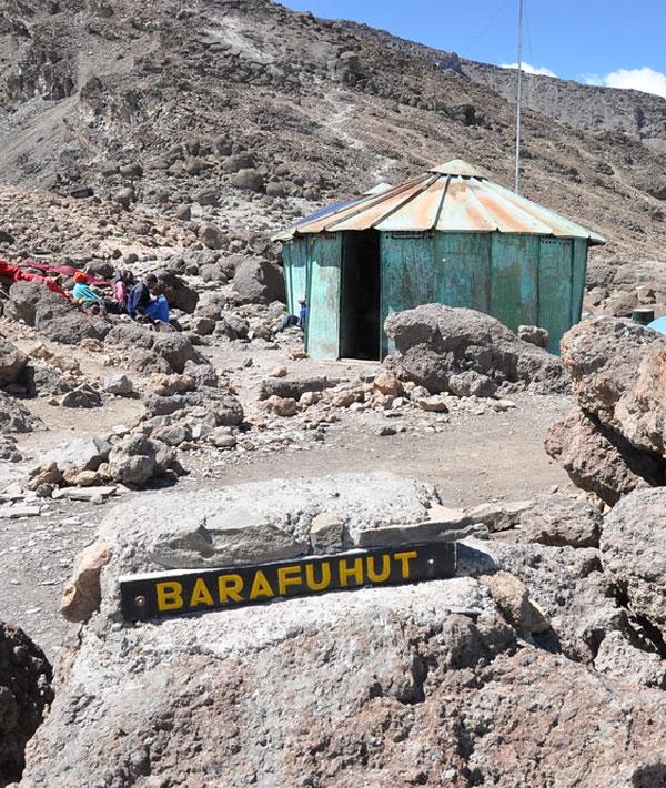 Barafu Camp to Uhuru Peak to Millennium Camp