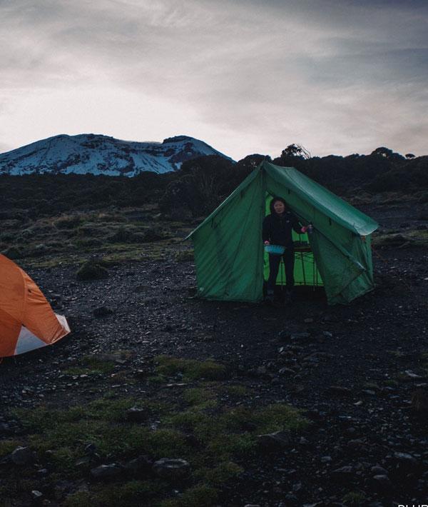 Shira Plateau – Shira hut (12,470ft/3800m)