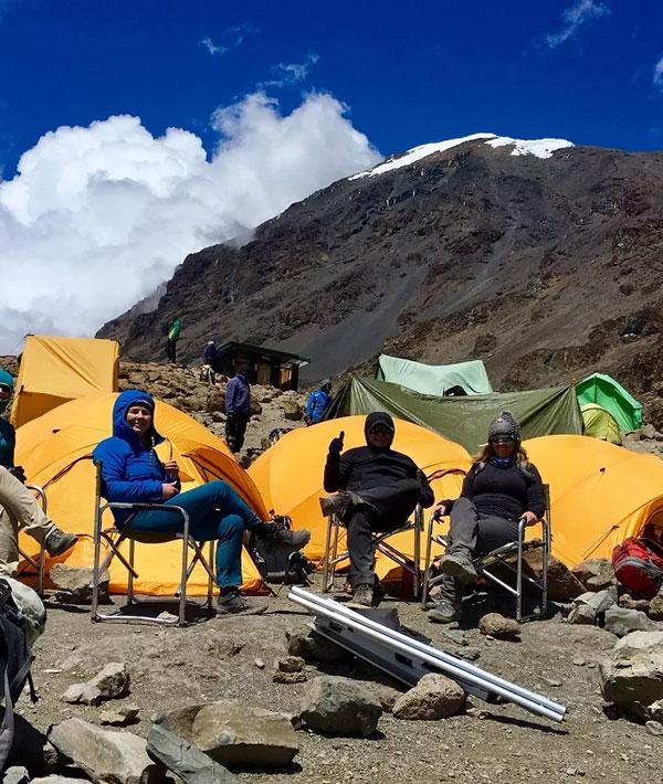 Shira hut – Barranco camp (12,960ft/3950m)