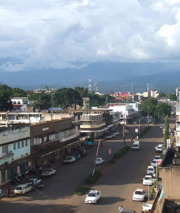 Mweka camp – Moshi